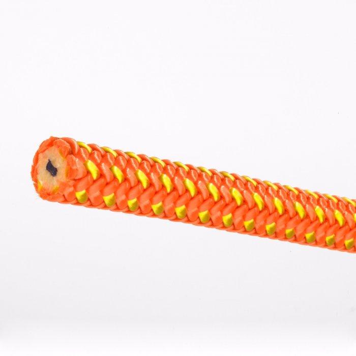 Lava (Orange) Rope Dog Leash